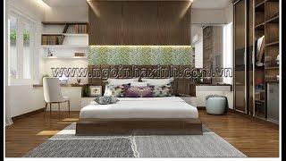 NGÔI NHÀ XINH - Mẫu thiết kế nội thất nhà anh Mười  Quận Gò Vấp