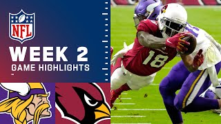 Vikings vs. Cardinals Week 2 Highlights | NFL 2021