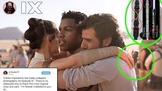 Episode 9 First Look Revealed by JJ Abrams! - Breakdown - Star Wars Theory