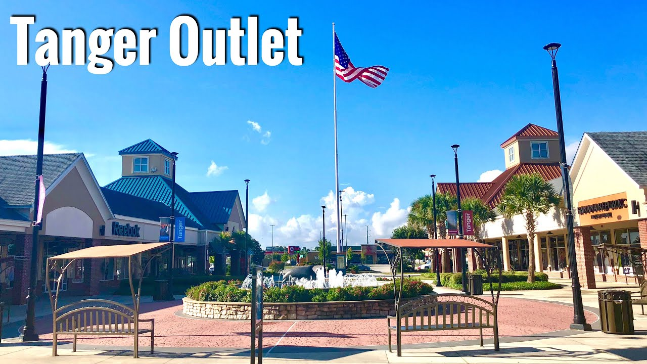 Myrtle Beach Tanger Outlets Map San Marcos