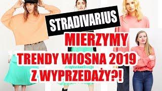 MIERZYMY WYPRZEDAŻE: STRADIVARIUS I TRENDY WIOSNA 2019 na zimowych wyprzedażach | TRY ON HAUL