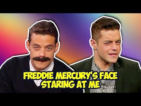 Rami Malek Shows His Awesome Sense of Humor (Bohemian Rhapsody)