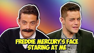 Rami Malek Shows His Awesome Sense of Humor (Bohemian Rhapsody)