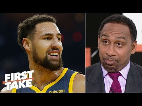 Klay Thompson's deal with the Warriors is already done - Stephen A. | First Take
