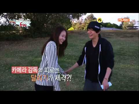 [Show] 130716 f(Amber, Krystal) - Playing with Camera @ Amazing f(x) E08 [Cut]