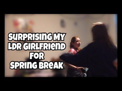 SURPRISING MY LONG DISTANCE GIRLFRIEND | SPRING BREAK | LDR | LGBT