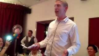Worst best man speech ?
