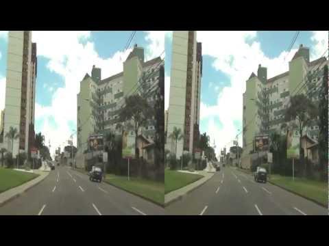 3D Um Passeio Por Curitiba - Jan/2013