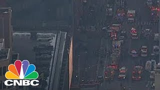 New York City Police Confirm Explosion In Port Authority | CNBC