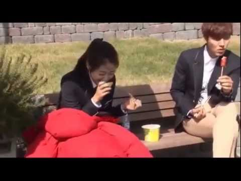 The Heirs, lee min ho, park shin hye, 상속자들, behind the scene, making film DVD3 Part28