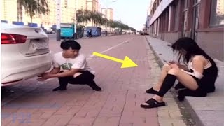 Chinese Comedy Videos - Funny Pranks Compilation Try Not To Laugh P7
