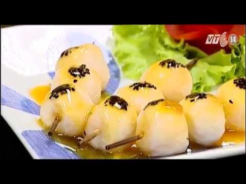 Làm bánh trôi  đón tết Hàn thực