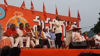 15-9-2018 cpm cpi advaryamulo vijayawada lo jarigina mahagarjana video(2)