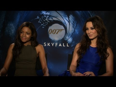 'Skyfall' Naomie Harris and Bérénice Marlohe Interview HD