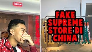 REACTION TOKO SUPREME PALSU KW DI CHINA + GIVEAWAY| #HuntingFake