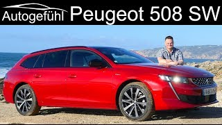 Peugeot 508 SW FULL REVIEW all-new 508 Estate Kombi - Autogefühl