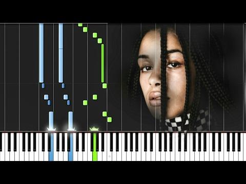 Jorja Smith - Something in the way [#reggiewatkins piano synthesia tutorial]