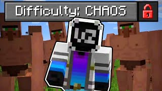 Beating The NEW Hardest Minecraft Difficulty! (cursed)
