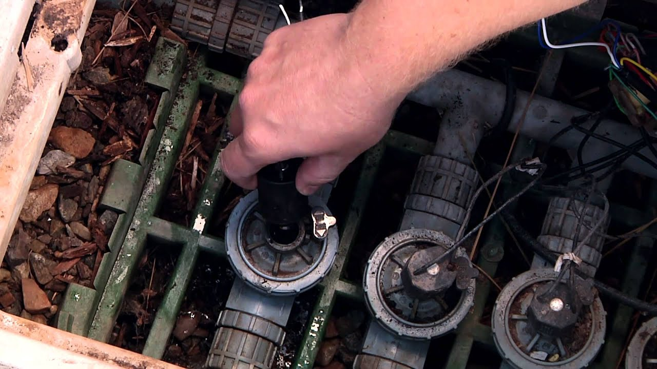 How To Replace A Sprinkler Valve Solenoid Youtube