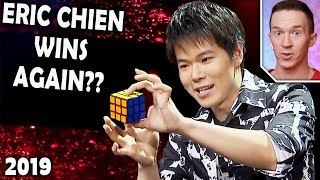 Magician REACTS to Eric Chien in the FINALS on Asia's Got Talent 2019