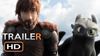 How To Train Your Dragon 3 Official Trailer #1 (2019) The Hidden World Animated Movie HD