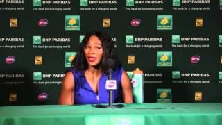Serena Williams SF Press Conference