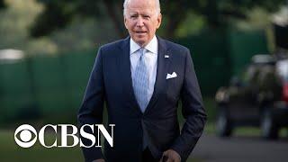 President Biden says Congress should extend eviction ban