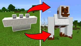 How To Spawn the YETI Boss in Minecraft Pocket Edition (Yeti Mob Addon)