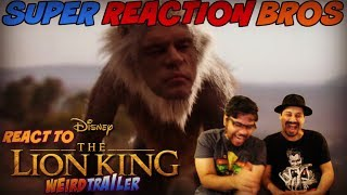 SRB Reacts to THE LION KING (2019) Weird Trailer | FUNNY SPOOF PARODY by Aldo Jones