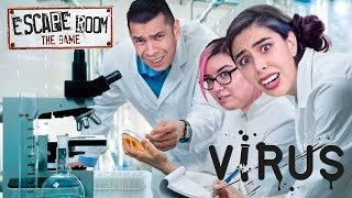 ESCAPE ROOM CHALLENGE - Virus Escape!