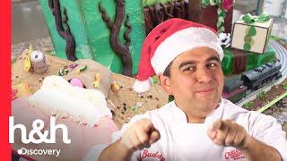 Buddy celebra o Natal com dois bolos grandiosos! | Cake Boss | Discovery H&H Brasil