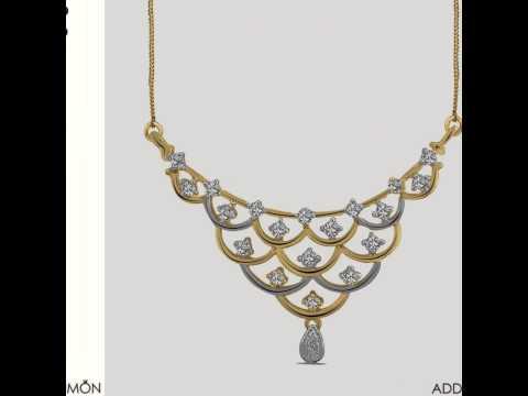 Unique Diamond Pendant