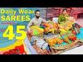 ఇక్కడ Daily Wear Sarees Starting ₹45 మాత్రమే Wedding Sarees Surat Wholesale Shop Transport Available