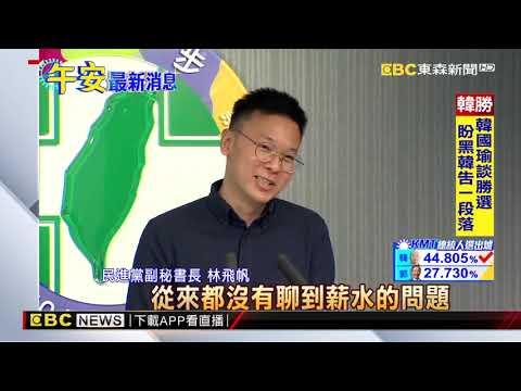 接任民進黨副秘 林飛帆:守住政權、防親北京勢力