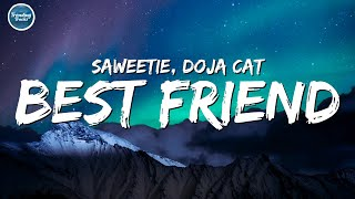 Saweetie - Best Friend (feat. Doja Cat) (Clean - Lyrics)