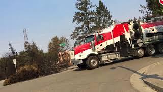 Santa Rosa Fires: Fir Ridge Drive in Fountaingrove