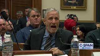 CLIP: Jon Stewart testifies for September 11 Victim Compensation Fund