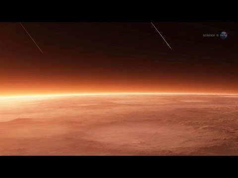 ScienceCasts: Colliding Atmospheres - Mars vs Comet Siding Spring