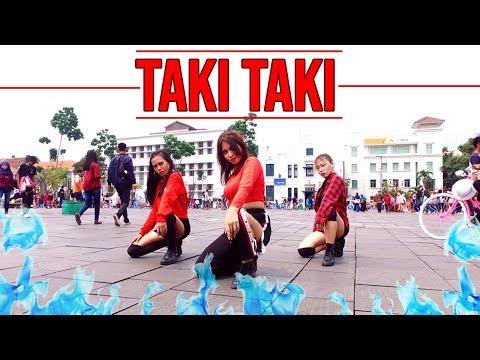 TAKI TAKI - DJ SNAKE, CARDI B, OZUNA & SELENA GOMEZ DANCE IN PUBLIC  | INVASION GIRLS
