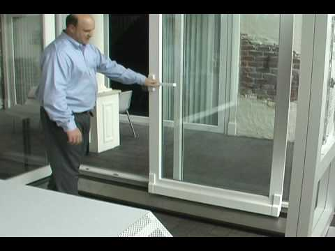 Veka Tilt And Slide Door Operation Youtube