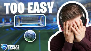 I created the EASIEST training pack in the world and it still made Rocket League players rage