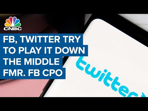 Facebook and Twitter try to play it down the middle: Former FB chief privacy officer