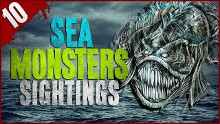 10 REAL Sea Monster Sightings - Darkness Prevails