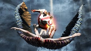 God of War 2: Icarus Boss Fight (4K 60fps)
