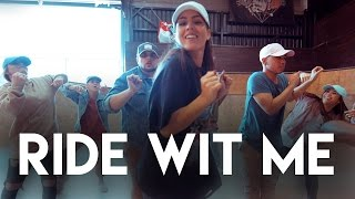 RIDE WIT ME Choreography | Megan Batoon | MeganBatoon