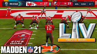 Super Bowl 55, but its decided by Madden