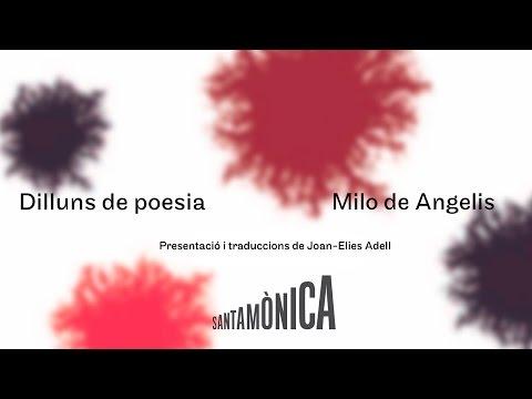 Milo De Angelis · Dilluns de poesia · Arts Santa Mònica