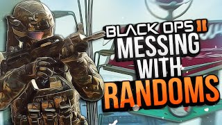 Black Ops 2 Messing with Randoms #24! (Mean Girl, Defending a Squeaker, Inraged Loser)