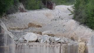 Illgraben 29.05.2017 - Lave torrentielle, Murgang, debris flow- Part 1 minute 0-10