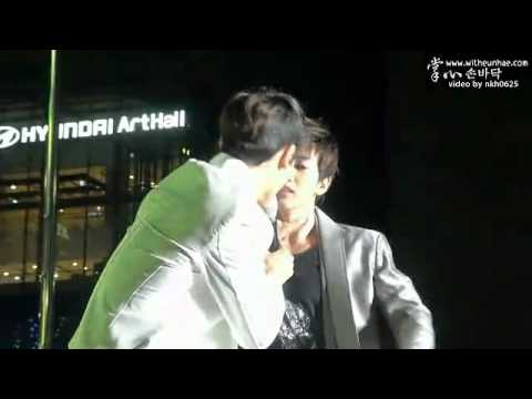 [Fancam]121007 Gangnam festival kpop HaeHyuk moment cut
